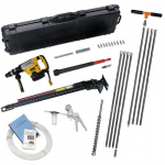 "Gas Vapor Probe Kit with Dedicated Tips and DeWalt D25763K- 2"" Hammer Drill"