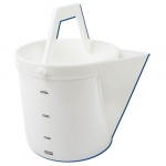 4-Gallon High Density Polyethylene Heavy Duty Bucket