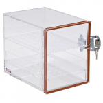 Large Acrylic Desiccator Cabinet with Lock