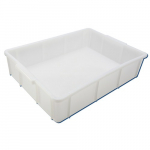 10-Liter High Density Polyethylene Stackable Deep Tray