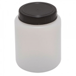 120ml Kartell Cylindrical Jar with Screw Cap