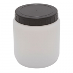1000ml Kartell Cylindrical Jar with Screw Cap