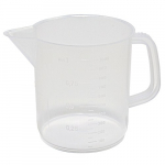1000ml Kartell Graduated Beaker with Handle