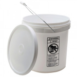 4-Gallon High Density Polyethylene Pail with Cover