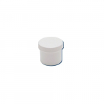 1/2oz Polypropylene White Jar