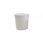 120ml White Disposable Specimen Container with Cover