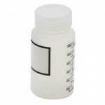 125ml Polypropylene Wide Mouth Graduated Bottle