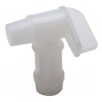 "3/4"" Low Density Polyethylene Natural Faucet"