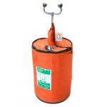 15 Gallon Portable Eyewash/Drench Hose Unit with Heat Traced Jacket