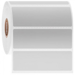 "3"" x 1"" Removable Paper Labels, White"