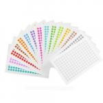"2400 Cryogenic Dots, 0.28"", Assorted"