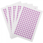 "800 Cryogenic Dots, 0.28"", Violet"
