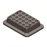 2.0mL x 24 Block Heating Block