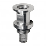 "3/4-20"" ISO NW 16 Stainless Steel Inlet Fitting"